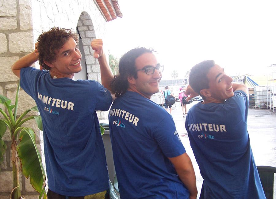 Moniteurs école de voile de cagnes-sur-mer